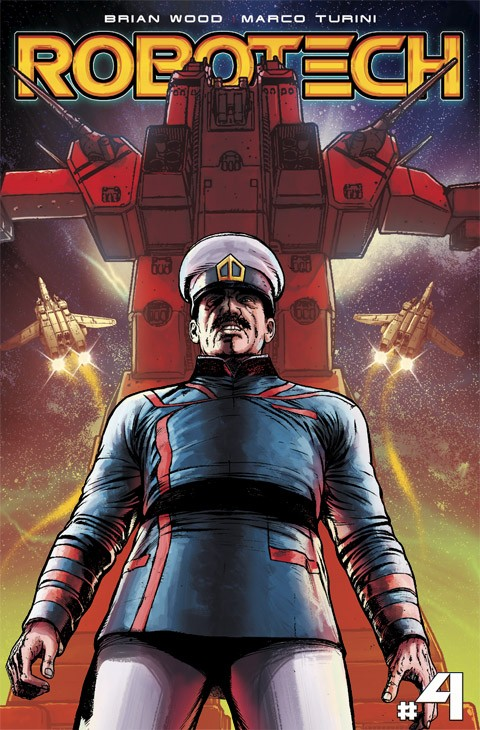 ROBOTECH #4 IS NOW OUT AT COMIC SHOPS AND ONLINE!