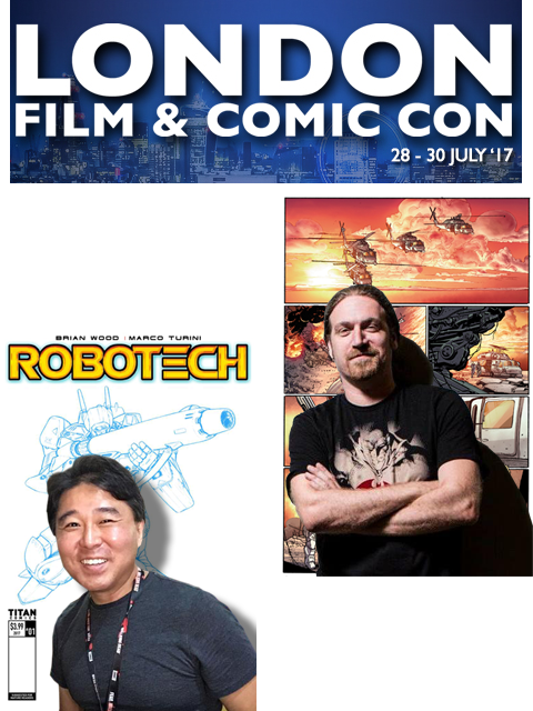 ROBOTECH AT LONDON FILM & COMIC CON JULY 28-30