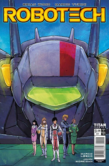 NERDSPAN: Robotech #1 Now on its third printing