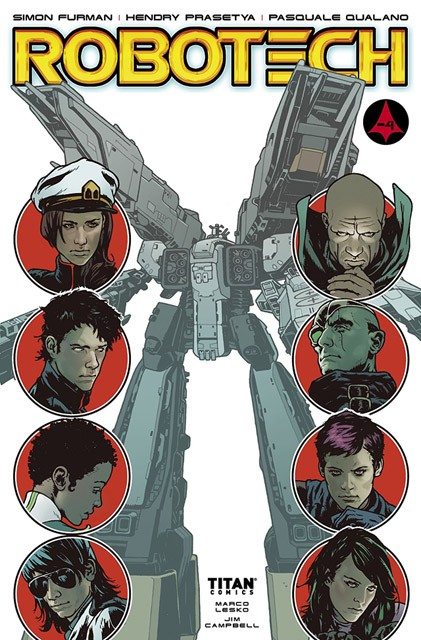 Robotech #17 coming to comic stores and digitally February 6!
