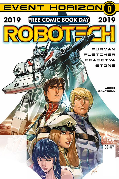ROBOTECH HEADLINES FREE COMIC BOOK DAY! SIMON FURMAN AND BRENDAN FLETCHER AUTOGRAPH SESSIONS MAY 4th!