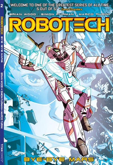 Robotech Trade Paperback #2 NOW SHIPPING!