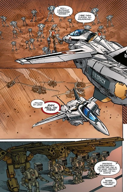 Robotech #6 in stores now!