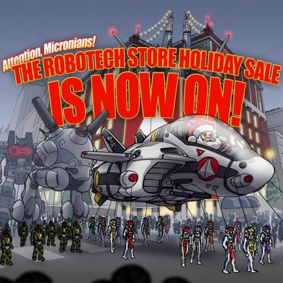 ROBOTECH.COM 2020 HOLIDAY SALE IS ON!
