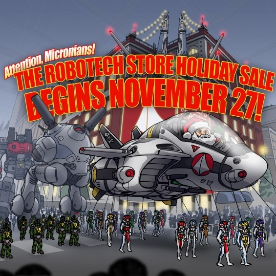 THE ROBOTECH 2020 HOLIDAY SALE!