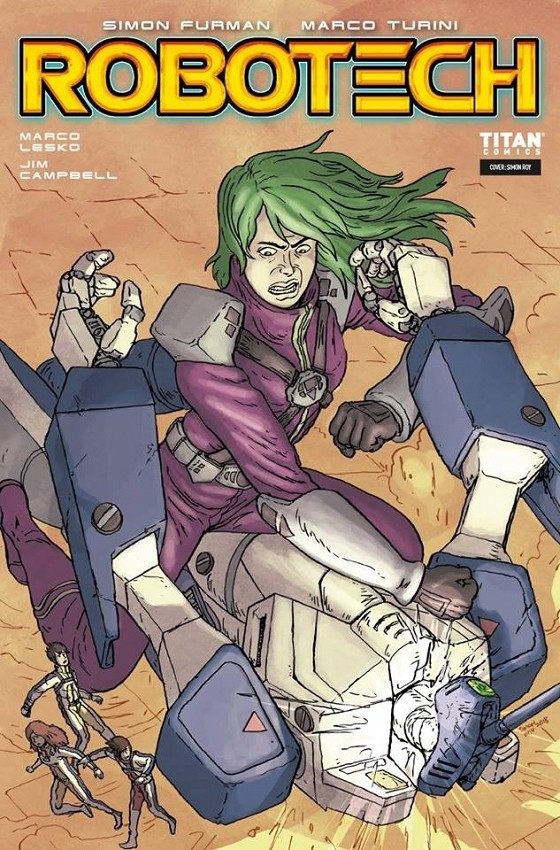 Robotech Issue #10 in stores now!