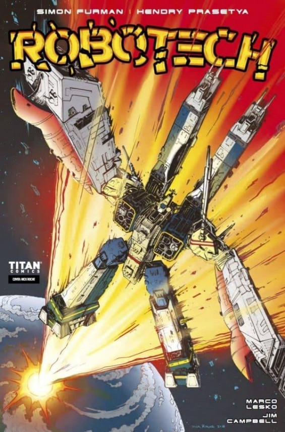 Robotech issue #16 now out