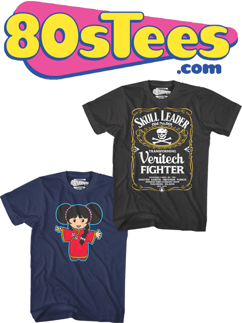 NEW SHIRT DESIGNS FROM 80'S TEES!