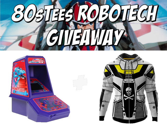 80's Tees Robotech Giveaway!