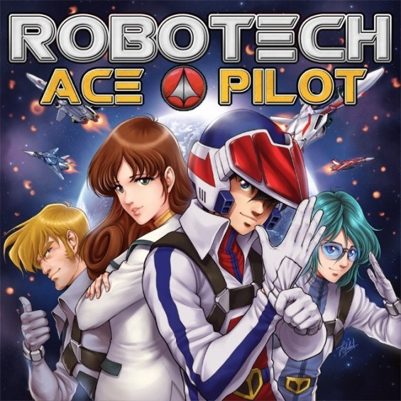 ROBOTECH ACE PILOT BOARD GAME ON PREORDER!