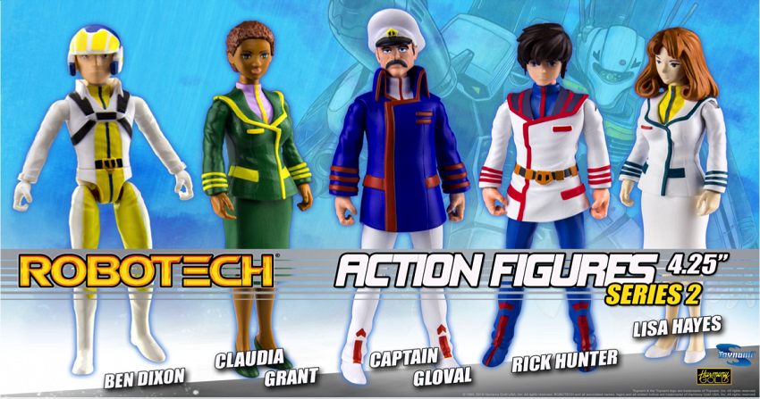 Robotech Action Figures Series 2!