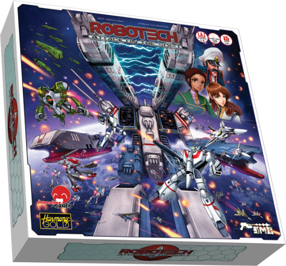 Robotech: Attack on the SDF-1 board game now on preorder!