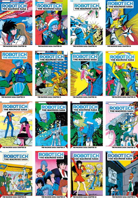 Single Digital Issues of Classic Robotech Comics coming from Titan!