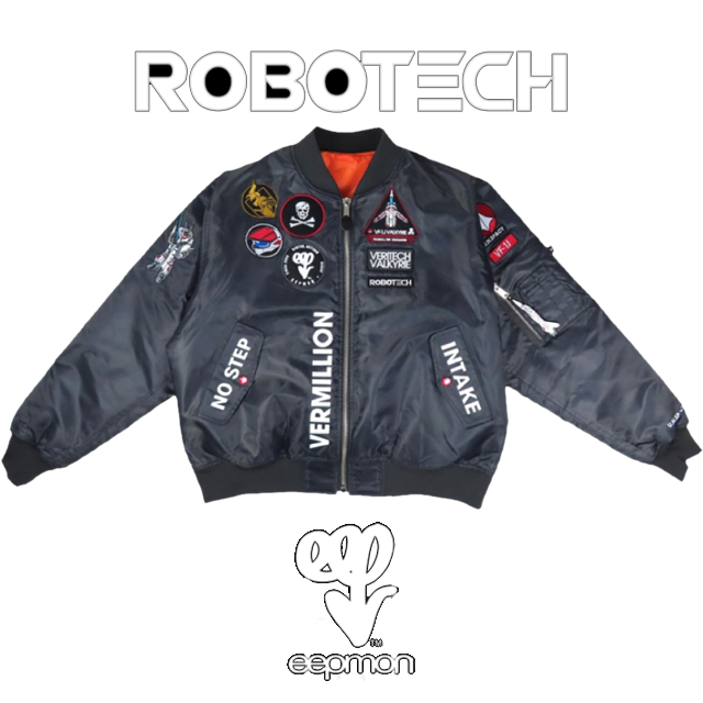 Robotech Flight Jackets from Toynami and EEPMON!