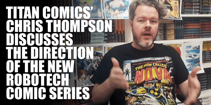 TITAN COMICS TALKS ROBOTECH COMIC DIRECTION