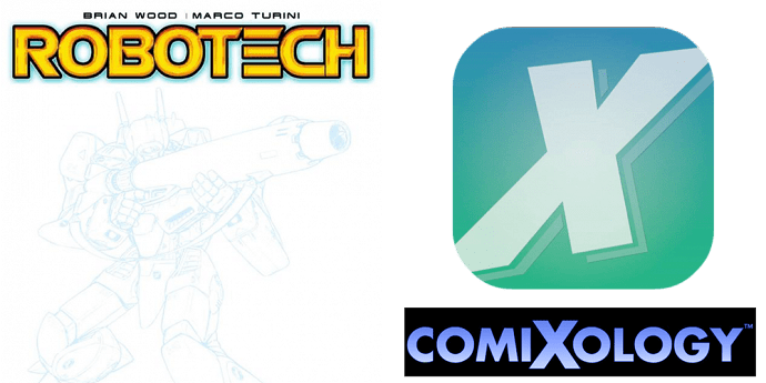 Robotech First Issue Now On Preorder!