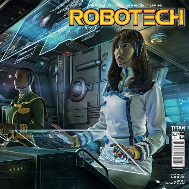 SYFYWIRE EXCLUSIVE: SNEAK PEEK AT ROBOTECH ISSUE 5