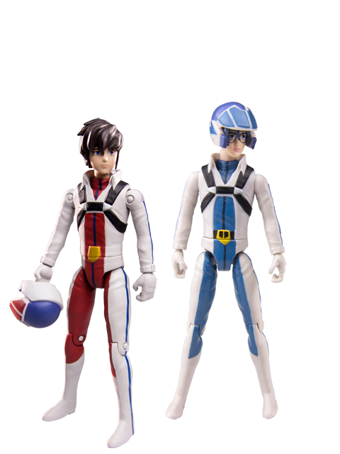 NEW 4 INCH ROBOTECH ACTION FIGURES