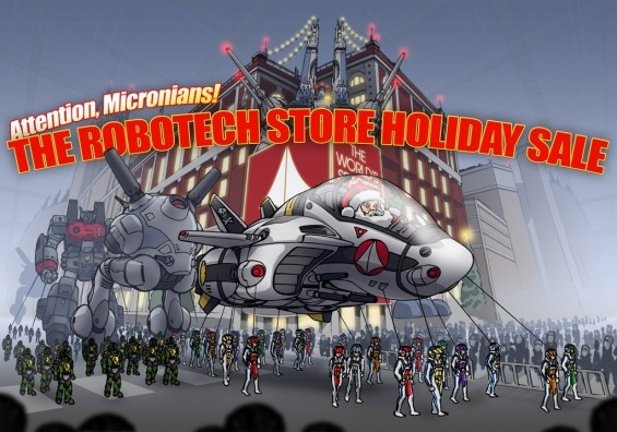 ROBOTECH.COM 2019 HOLIDAY SALE! UPDATED DEC 26!