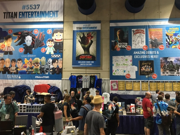 UPDATE: ALL ROBOTECH COMICS SOLD OUT AT TITAN'S BOOTH