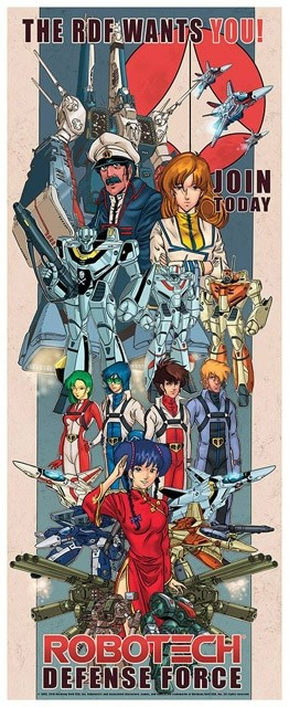 UPDATED THURSDAY: All The Robotech At San Diego Comic Con!