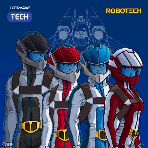 Robotech in February's LootAnime!