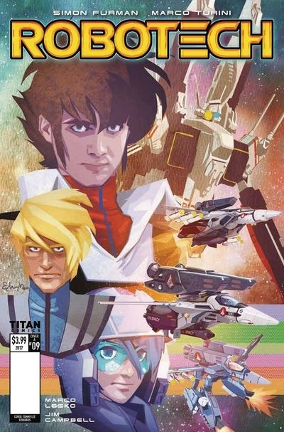 ROBOTECH #9 IN STORES NOW