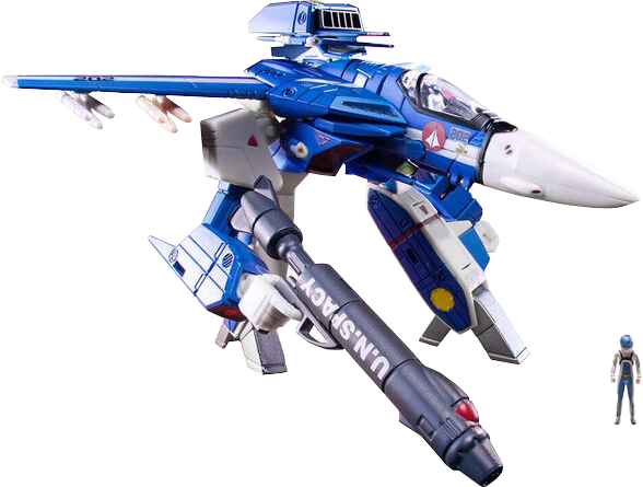 1/100 VF1J WITH MICRONIAN PILOT MAX ON PREORDER!