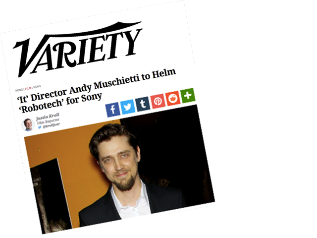 Harmony Gold confirms Andrew Muschietti as Robotech Director