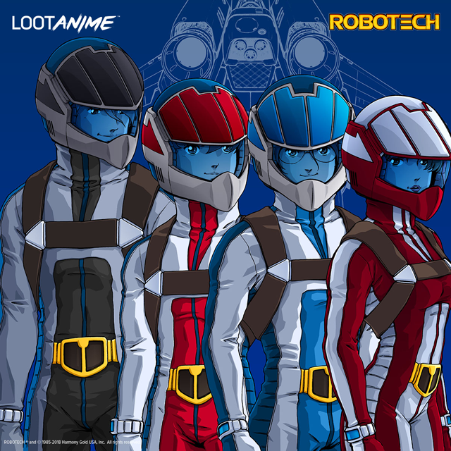 ROBOTECH IN THIS MONTH'S LOOT ANIME!