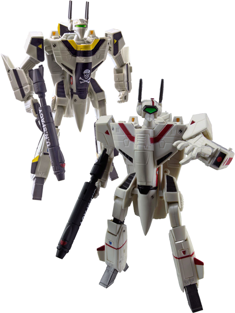 Retro 1/100 Macross Valkyries now on preorder!