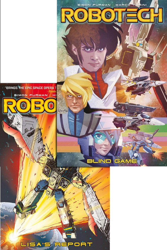 Robotech Trade Paperbacks and Archives in stock!