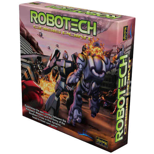 Robotech: Crisis Point Card Game is out and shipping now!
