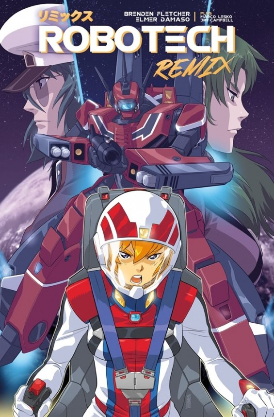 Robotech Remix is out now in comic stores and online!