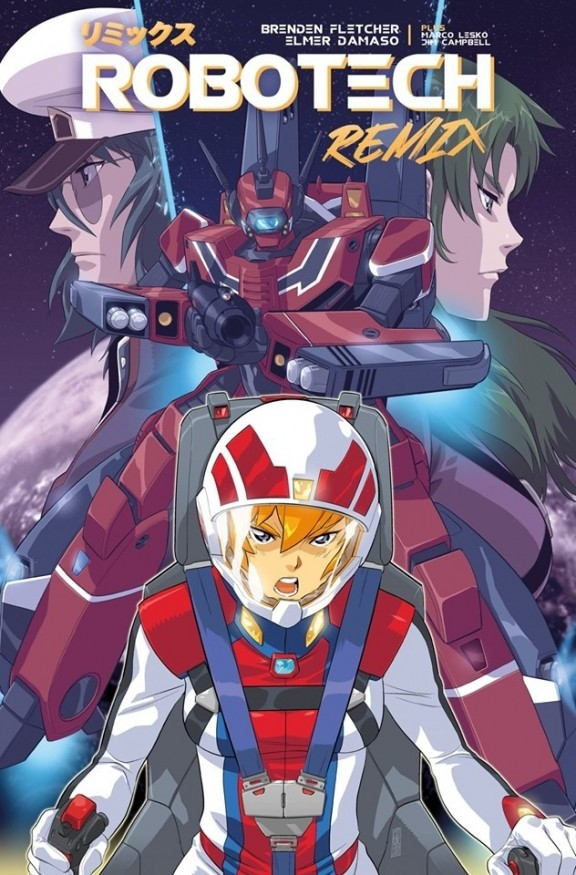Robotech Remix: Inside the Robotech Reboot With Brenden Fletcher