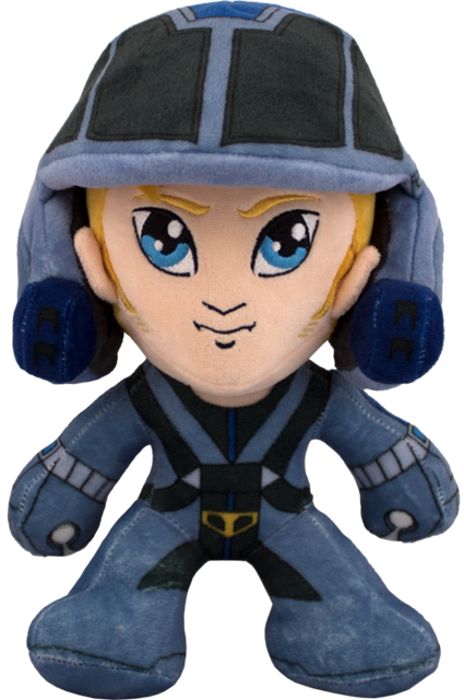 Icon Heroes Presents Robotech Plush Dolls