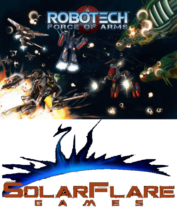 "ANNOUNCING ""ROBOTECH: FORCE OF ARMS"" CARD GAME FROM SOLAR FLARE GAMES!"