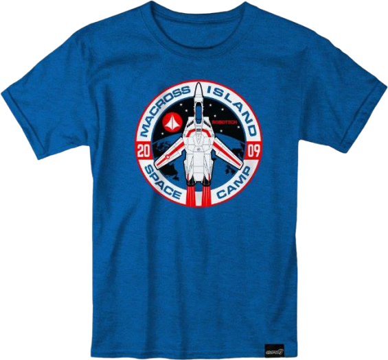 Robotech Space Camp Shirt now from Super7!