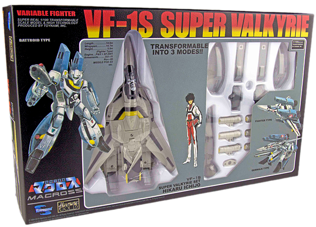 Check out Toynami's Convention Exclusive Throwback Veritech at Wondercon!