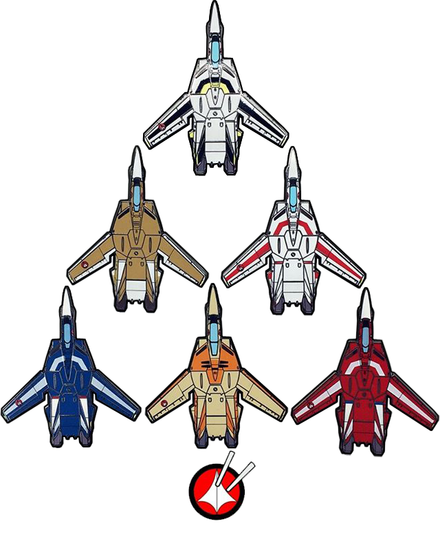 INTRODUCING ROBOTECH PINS BY UDON!