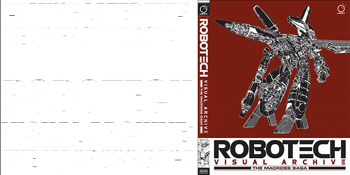 COMING SOON: ROBOTECH VISUAL ARCHIVE BY UDON