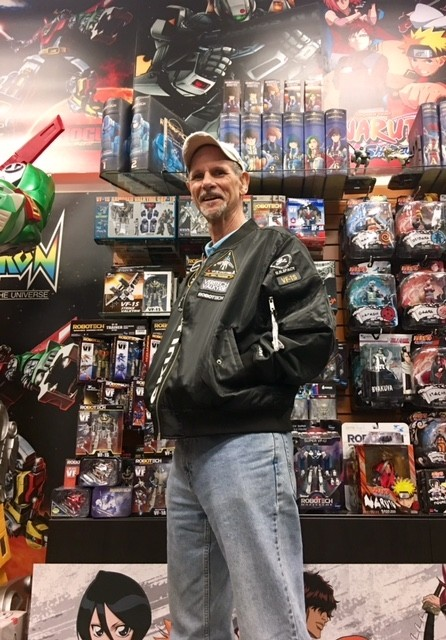 Dan Woren visits Toynami to check out the new Skull Leader Jacket!